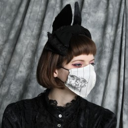 RABBIT & TEAPOT MASK WEAR / M