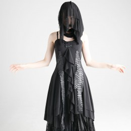 Dragon Leather Ribbon Dress