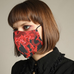 Blood Rose Mask Wear / M