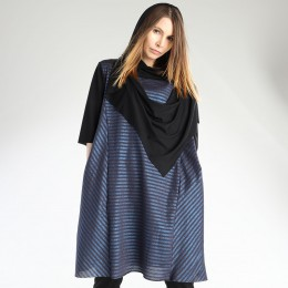 Border tunic dress