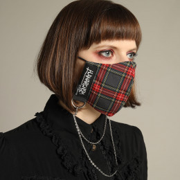 Anarchy check Mask Wear / M
