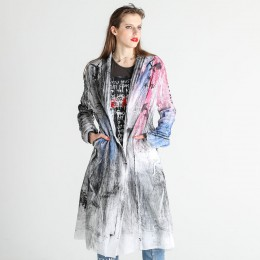 Block Print Gauze Jacket