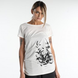 Dark feather silhouette T-SH