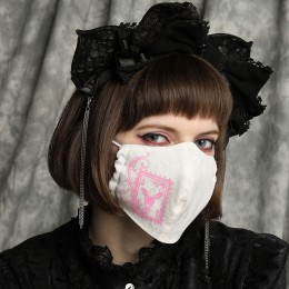 ACE OF HEART RABBIT MASK WEAR / M