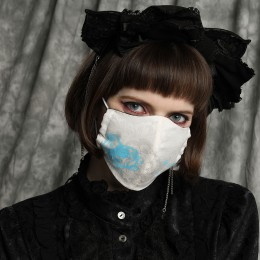 DREAMING ALICE'S BLUE MASK WEAR / M
