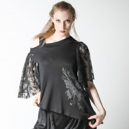 One shoulder Butterfly TOPS