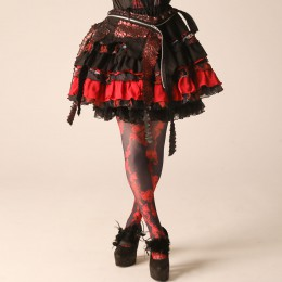 Red Dragon BloodyRoses Skirt