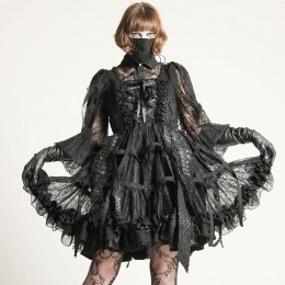 Dragon Scale Bird cage dress