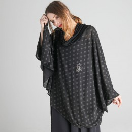 Witch's Dot Cape tops