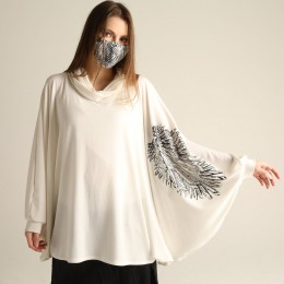 Angel Cape sleeve tunic