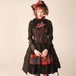 Blood Dahila Dress
