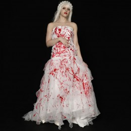 Bloody Mermaid Wedding Dress