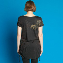 One-Winged Angel Side Gather TOPS