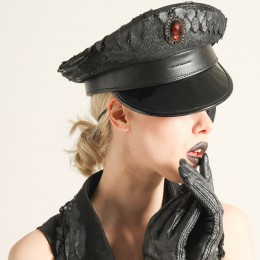 Black Dragon Military Cap