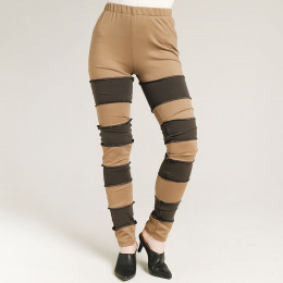 Bandage stretch leggings