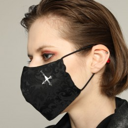 Gothic Devil Cross Mask Wear / M