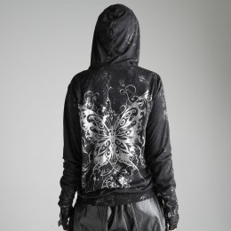 Metal crash Butterfly hoodies
