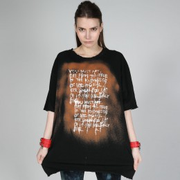 Message Bleach T-SH