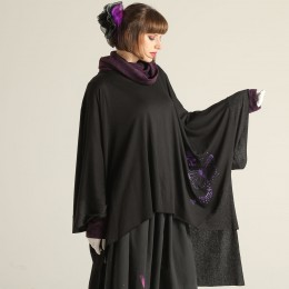 Butterfly Cape tunic dress