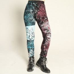 HANGRY paint crush leggings