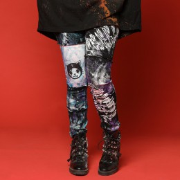 ANGRY paint crush leggings