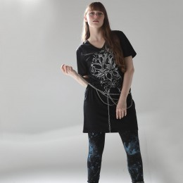 Metal crash leggings