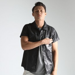 Gear coated shirt