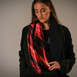 Gradient Velor Snood