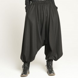 Mesh Stretch Sarouel pants