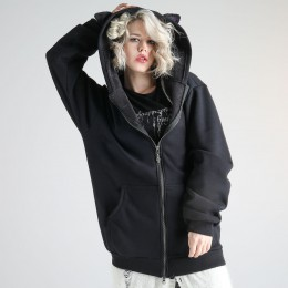 Witch's black cat hoody