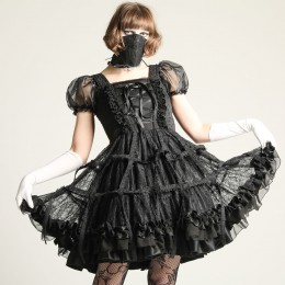 Rose Bird cage dress