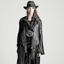 Dragon leather vest  / L