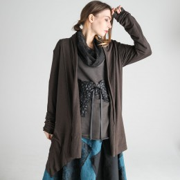 Drape Brown Cardigan
