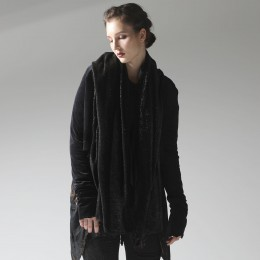 Velour Metal fur Cardigan