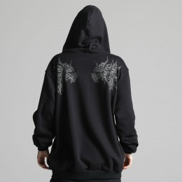 Devil wings loose parka