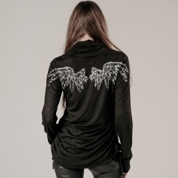 Angel's wing High Neck T-shirt