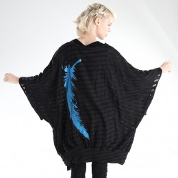 Angel wing border tunic