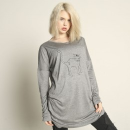 Crown cat dolman tops