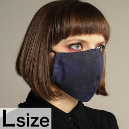 Blue Rose Mask Wear / L