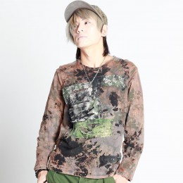 Slash Camouflage Top