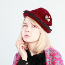 Attic Rose Hat