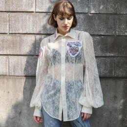 Hell Alice Lace blouse