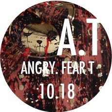 1018 ANGRY FEAR-T